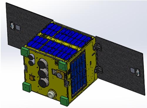 Mô hình vệ tinh MicroDragon (nguồn VNSC