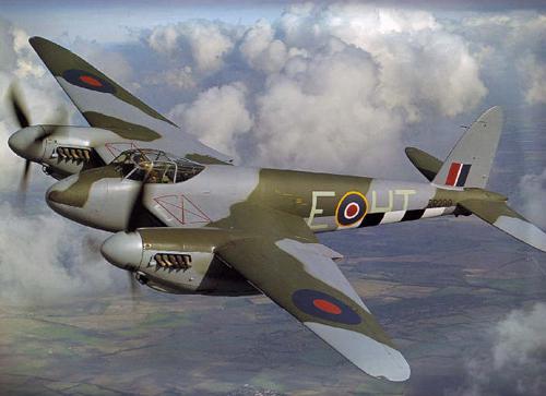 Con muỗi - chiến đấu cơ tàng hình đầu tiên của không quân Anh 1