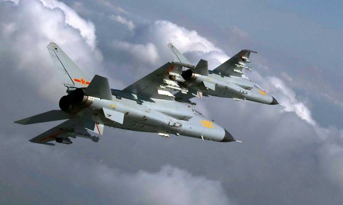 Hai loại chiến đấu cơ Trung Quốc nghi đưa đến Hoàng Sa 1
