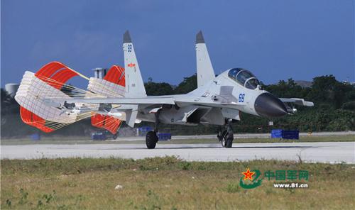 Hai loại chiến đấu cơ Trung Quốc nghi đưa đến Hoàng Sa 3