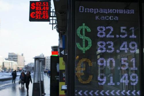 """Kinh tế Nga """"hắt hơi"""", láng giềng cũng """"sổ mũi"""" 1"""