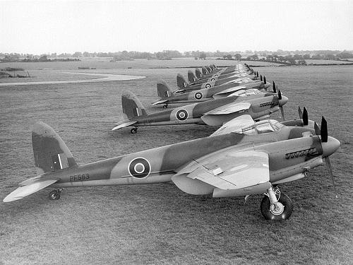 Con muỗi - chiến đấu cơ tàng hình đầu tiên của không quân Anh 2