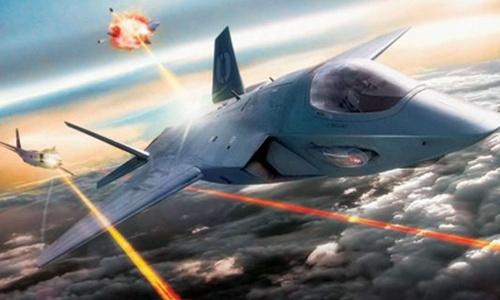 Chiến đấu cơ tương lai trang bị súng laser của Mỹ 1