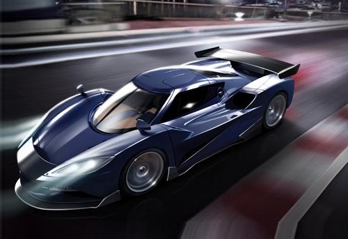 Arash AF10 2016 - siêu xe mới 1,5 triệu USD 1
