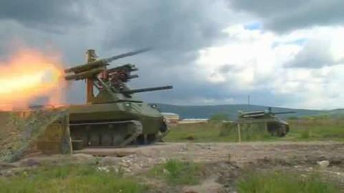 Cỗ xe chiến đấu robot nguy hiểm nhất thế giới của Nga 2