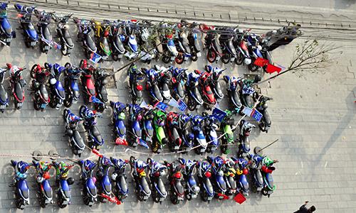 Hơn 250 chiếc Exciter hội tụ tại Hà Nam 2