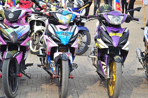 Hơn 250 chiếc Exciter hội tụ tại Hà Nam 5