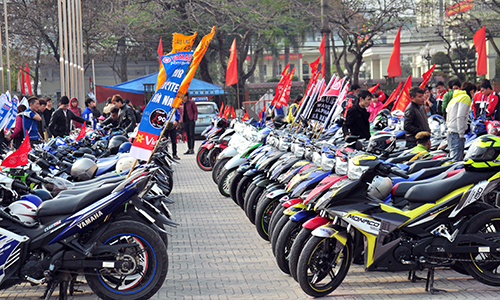 Hơn 250 chiếc Exciter hội tụ tại Hà Nam 6
