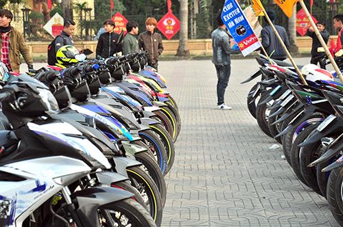 Hơn 250 chiếc Exciter hội tụ tại Hà Nam 8