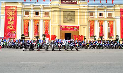 Hơn 250 chiếc Exciter hội tụ tại Hà Nam 1