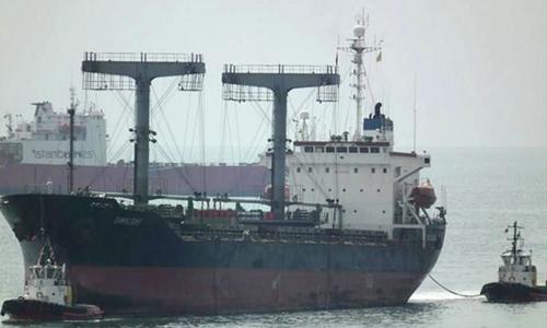 Con tàu bí ẩn bị nghi làm ăn trong bóng tối với Triều Tiên 1