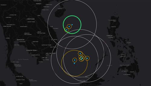 Các lớp chống tiếp cận dày đặc của Trung Quốc ở Biển Đông 1