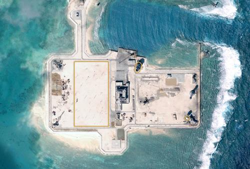 Các lớp chống tiếp cận dày đặc của Trung Quốc ở Biển Đông 2