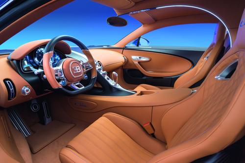 Bugatti Chiron - đế chế tốc độ mới giá 2,6 triệu USD 2