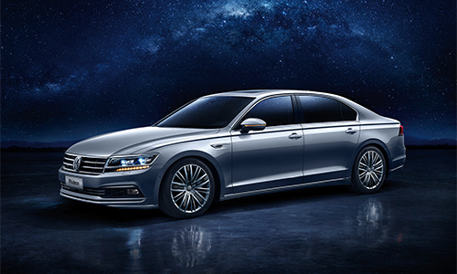 Volkswagen Phideon - limo cho Trung Quốc 1