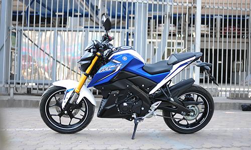 Yamaha M-Slaz đầu tiên về Hà Nội 1