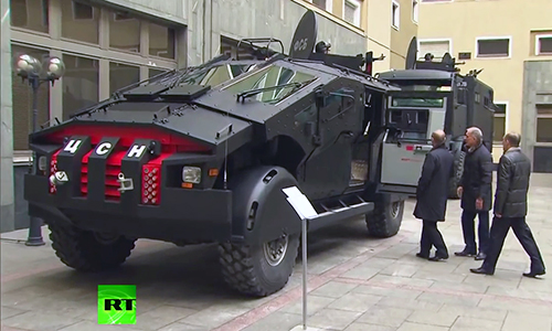 """Xe bọc thép ZIL Karatel - """"quái vật"""" Batmobile của Nga 1"""