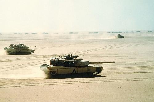 Trận đại chiến xe tăng cuối cùng của thế kỷ 20 1