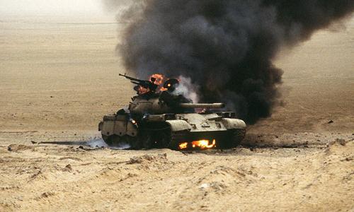 Trận đại chiến xe tăng cuối cùng của thế kỷ 20 2