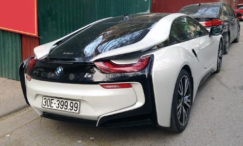 Xe sang BMW i8 biển đẹp tại Việt Nam 2