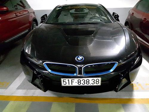 Xe sang BMW i8 biển đẹp tại Việt Nam 5