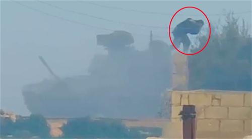Sai lầm khiến tăng T-90 Nga trúng tên lửa TOW ở Syria 3