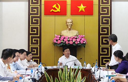 """Ông Đinh La Thăng: """"Nhà dân sập thì mấy lãnh đạo cũng sập"""" 1"""