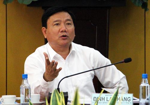 """Ông Đinh La Thăng: """"Nhà dân sập thì mấy lãnh đạo cũng sập"""" 2"""