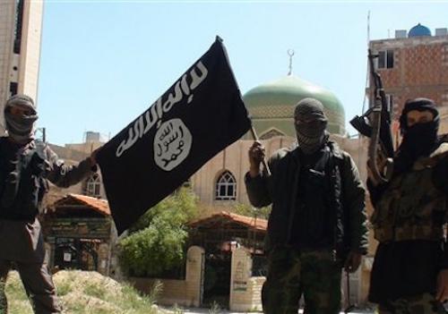 Phiến quân Nhà nước Hồi giáo (IS). Ảnh: AP