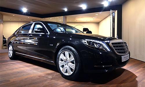 Mercedes-Maybach S600 Guard - xe bọc thép giá 515.000 USD 1