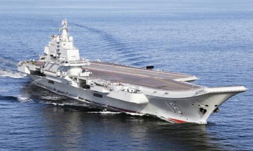 Tàu sân bay Trung Quốc - phế phẩm trong mắt tướng lĩnh Mỹ 1