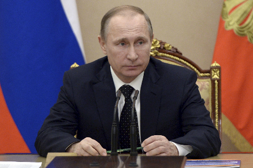 Tổng thống Putin. Ảnh: Reuters