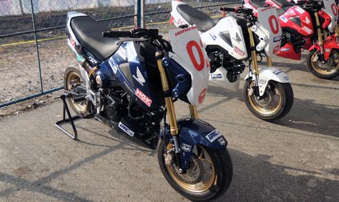 """Xế """"độ"""" đường đua Honda MSX ở Việt Nam 1"""