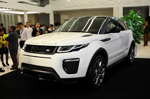Range Rover Evoque 2016 chính hãng về Việt Nam 1