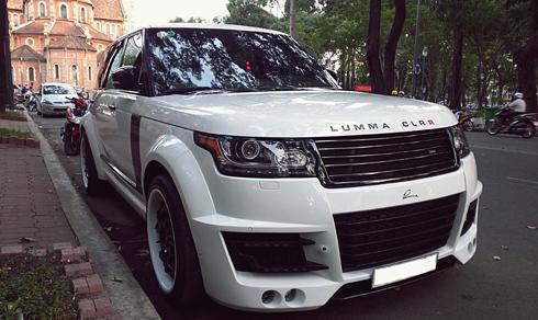 Xế độ Range Rover Lumma CLR R ở Sài Gòn 1
