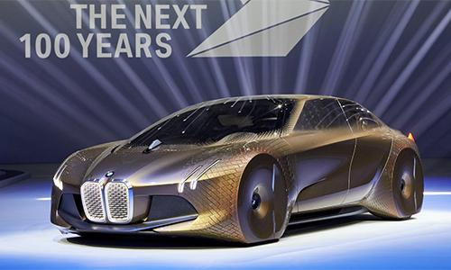 Vision Next 100 Concept - tương lai thế kỷ mới của BMW 1