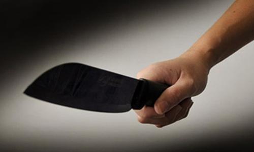 Cầm dao bầu đoạt mạng vợ sau khi các con đi học