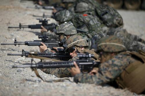 Triều Tiên sục sôi vì tin Mỹ - Hàn diễn tập ám sát Kim Jong-un 1