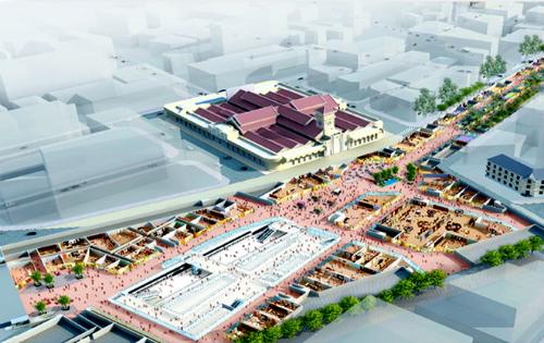 Đề xuất xây khu phố ngầm 8.400 tỷ đồng ở Sài Gòn 1