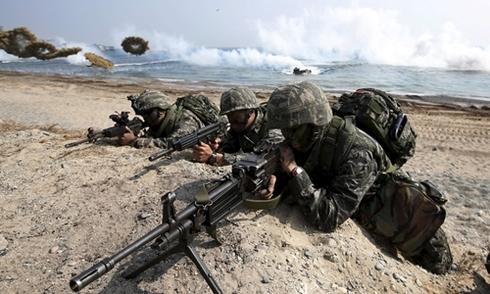 Cuộc tập trận chung Mỹ - Hàn lớn nhất trên bán đảo Triều Tiên