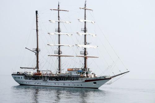 Hải quân đưa tàu buồm huấn luyện hiện đại vào sử dụng 2