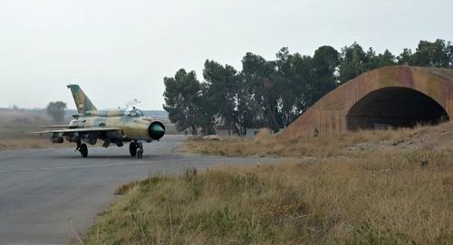 Chiến đấu cơ Mig-21 của Syria. Ảnh: Sputnik