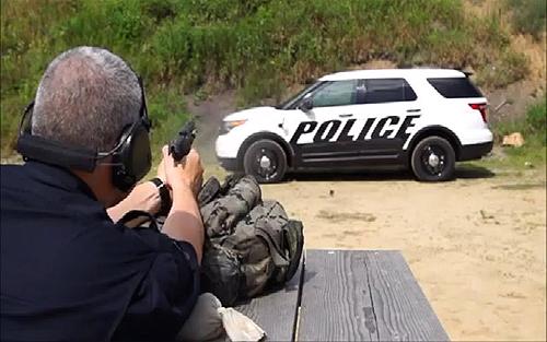 Xe cảnh sát Mỹ chống đạn thế nào? 1