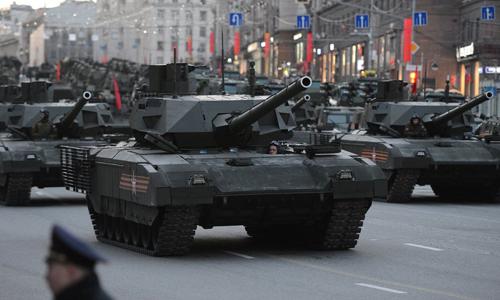 Nga bắt đầu sản xuất hàng loạt siêu tăng T-14 Armata 1