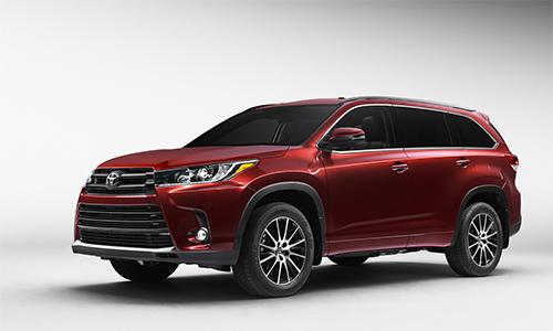 Toyota Highlander 2017 lộ diện 1