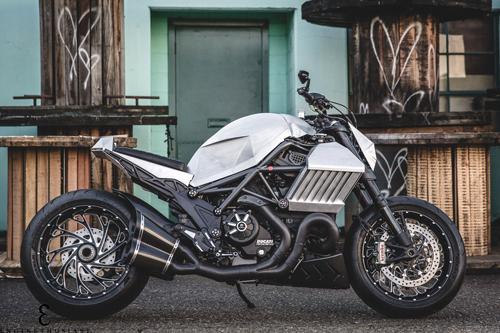Ducati Diavel độ lạ phong cách tương lai 1
