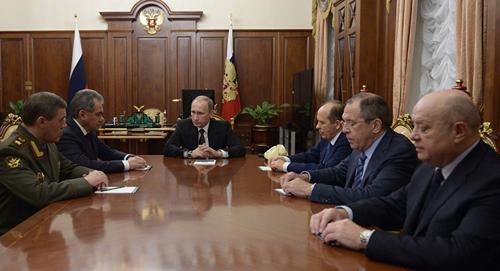 Phong cách tạo bất ngờ trong quyết sách của Putin 3