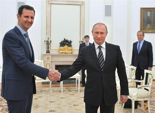 Nước cờ chiến lược của Nga trên chiến trường Syria 1