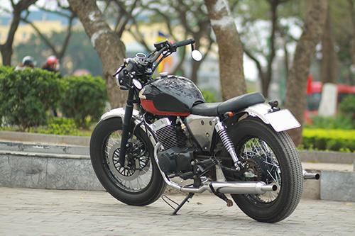 Honda Rebel phong cách cổ của sinh viên Hà Nội 1