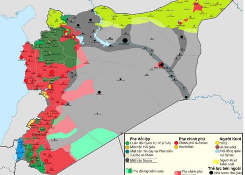 Nước cờ chiến lược của Nga trên chiến trường Syria 2